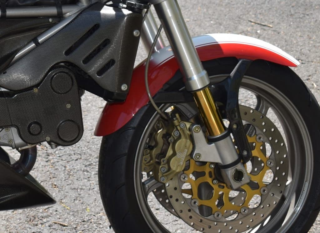 Ducati Monster S4 front brakes and suspension