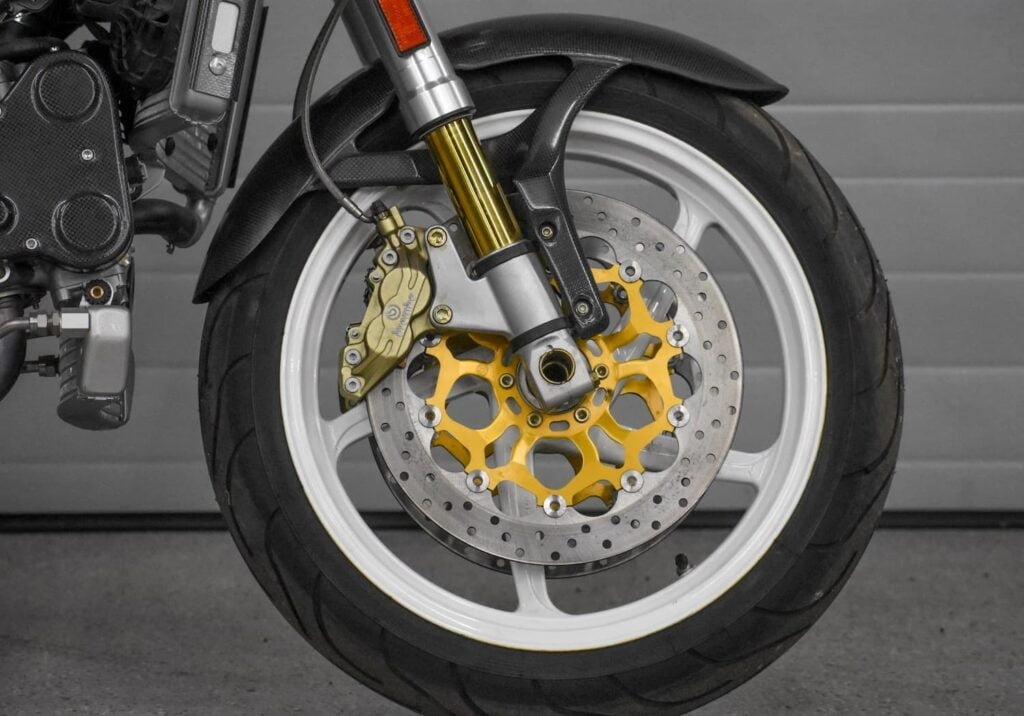 Ducati Monster S4R front wheel and suspension