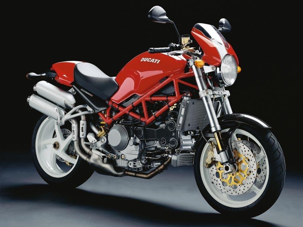 Ducati Monster S4R red front diagonal